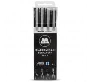 Blackliner Sæt 1 x 4stk